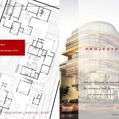 COMPANY: Gedung perkantoran oleh IMG ARCHITECTS, Modern