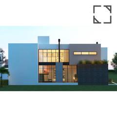 Casa JR: Casas familiares  por Rau Duarte Arquitetura