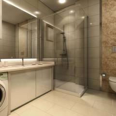 VERO CONCEPT MİMARLIK – Altındağ Prestij-1: modern tarz Banyo