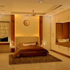 JR Greenwich Villas, Sarjapur Road - Ms. Natasha:  Bedroom by DECOR DREAMS