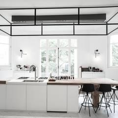 Eclairage de la Cuisine: Éléments de cuisine de style  par NEDGIS
