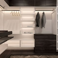 Dressing room by U-Style design studio