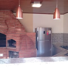 Muebles de cocinas de estilo  por Richard Lima Arquitetura