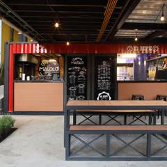Restaurantes de estilo  por Boutique de Arquitectura  (Sonotectura + Refaccionaria)