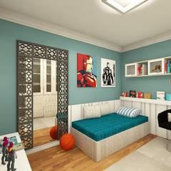 غرفة نوم أولاد تنفيذ tsmarquiteto