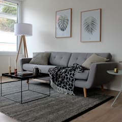 Wohnzimmer im nordischen Stil:  Wohnzimmer von Home Staging Nordisch