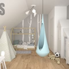 Nursery/kid's room by OES architekci