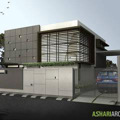 Palembang House:  Rumah tinggal  by Ashari Architect