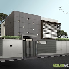 Palembang House:  Rumah by Ashari Architect