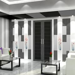 Rumah Tinggal:  Ruang Keluarga by setup solution