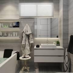PRATIKIZ Mimarlık/ Architecture – Aker Evi- Antalya: modern tarz Banyo