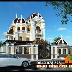 Villa oleh Công ty TNHH TKXD Nhà Đẹp Mới