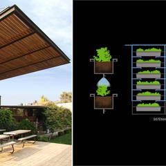 Cubierta Andersen: Techos planos de estilo  por Boutique de Arquitectura  (Sonotectura + Refaccionaria)