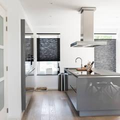 Woning Oud-Alblas:  Keuken door Bongers Architecten