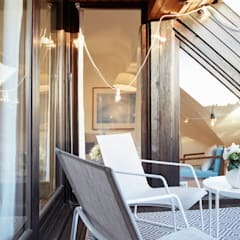 Maisonette Wohnung, Home staging:  Terrasse von Home Staging Bavaria