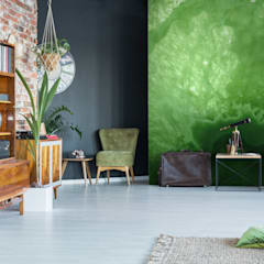 The Green Matter:  Living room by Pixers