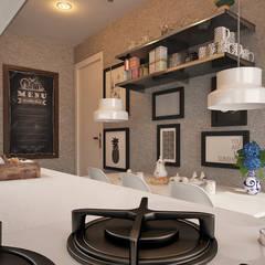 50GR Mimarlık – halkalı_örnek daire: modern tarz Mutfak