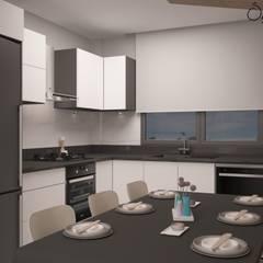 Deniz Gökçe Mimarlık ve İnşaat – Mutfak   Kitchen :  tarz Mutfak