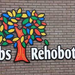 Lagere school Rehoboth Oldekerk Moderne scholen van janny doornbos architektonische vormgeving Modern