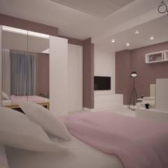Deniz Gökçe Mimarlık ve İnşaat – İç Mekan Konut Projesi | C.S Dairesi | Manisa:  tarz Kız çocuk yatak odası