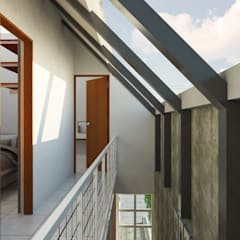 Corridor and hallway by SODA Indonesia