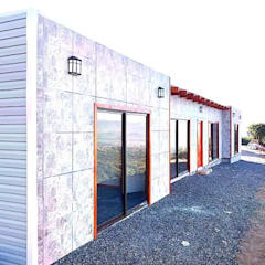Prefabricated home by Constructora Milan, Mediterranean
