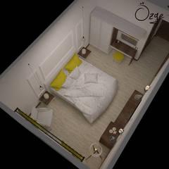 Deniz Gökçe Mimarlık ve İnşaat – Butik Otel | Edremit:  tarz Yatak Odası