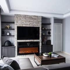 اتاق نشیمن توسط知域設計, اکلکتیک (ادغامی)