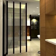 Corridor, hallway by 劉旋設計事務所/劉旋工程有限公司