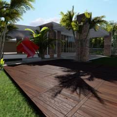 بالکن،ایوان وتراس by Arquitectura Creativa