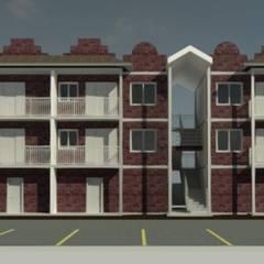 Flats Holambra: Hotéis  por Whill Barros Arquitetura e Design
