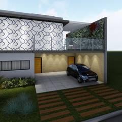 Condominios de estilo  por Whill Barros Arquitetura e Design