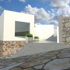 AMPLIACIÓN INTEGRAL AS: Casas multifamiliares de estilo  por CREAT ARQUITECTURA
