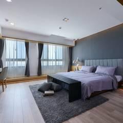غرفة نوم تنفيذ 見本設計