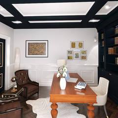 The Jasmine Residence:  Study/office by Belal Samman Architects