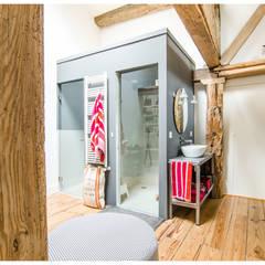 玻璃門 by TALLER VERTICAL Arquitectura + Interiorismo