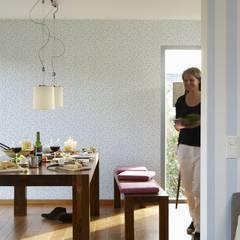 Vliestapete Liberté Streublumen Blau:  Wände von dasherzallerliebste
