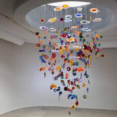 Nebula: Spa de estilo  por Ana Maria Nava Glass