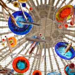 Nebula: Comedores de estilo  por Ana Maria Nava Glass, Ecléctico