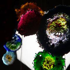 Nebula: Piscinas de estilo  por Ana Maria Nava Glass