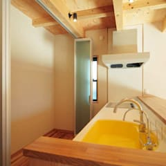 通り土間のある家: ヒロ設計室が手掛けたキッチンです。,クラシック