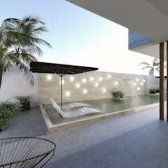 Garden Pool by Taller Veinte