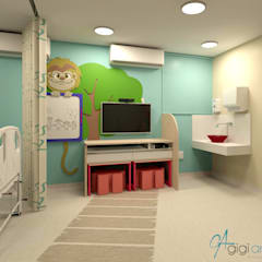 Hospitals by Gigi Arruda Interiores/ Pallecor