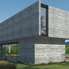 Country house by IMAGENES MR, Modern Concrete