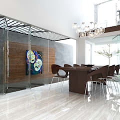 SA House: Ruang Makan oleh ACCESS ARCHITECT,