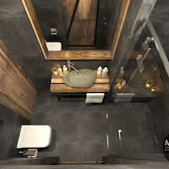 Bathroom by MONOstudio