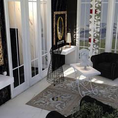 SIENTE EL ESTILO VERSACE: Baños de estilo  por INTERIORES MCSalvans
