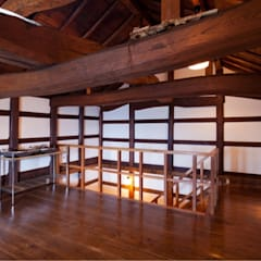 もてなしの蔵 クラシカルスタイルの 玄関&廊下&階段 の (有)クエストワークス一級建築士事務所 クラシック