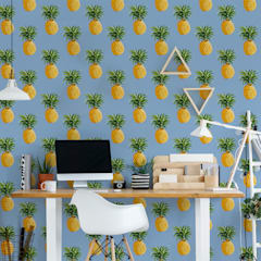 Pineapple Fever:  Study/office by Pixers