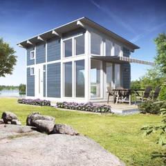 Tiny House met vide 25 m2:  Buitenhuis door Scandivik Buitenleven